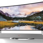 LG's 105-inch curved TV