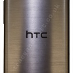 HTC One (M8) metal grey back