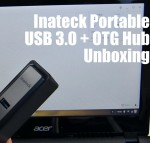 Inateck Portable USB 3.0 + OTG Hub Unboxing
