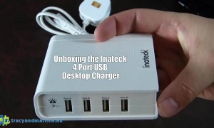 Unboxing the Inateck 4 Port USB Desktop Charger