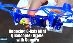 Unboxing 6 Axis Mini Quadcopter Drone with Camera