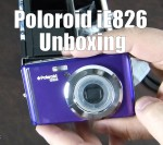 Polaroid iE826 Unboxing