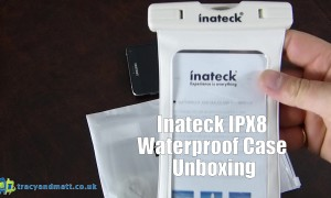 Inateck IPX8 Waterproof Case Unboxing