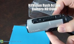 KitVision Rush Action Camera HD100W Unboxing
