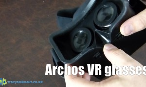A look through the Archos VR Goggles