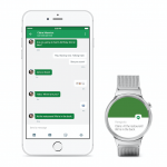 iPhone and Android Wear