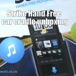 Strike Hands Free car cradle