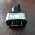 Suaoki 3 Port USB Car Charger review