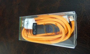 Elite 8 Pin Braided USB Cable from Gadjet Review