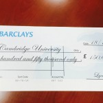 LYCAHEALTH DONATES £150,000 TO CAMBRIDGE UNIVERSITY