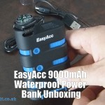 EasyAcc 9000mAh Waterproof Power Bank