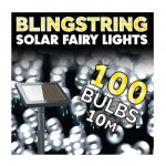 WIN Blingstring Solar Fairy Lights White 100 LEDs