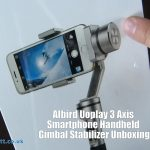 AIbird Uoplay 3 Axis Smartphone Handheld Gimbal Stabilizer Unboxing