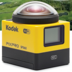 Kodak enters the next frontier with the SP360 4K 360° Action Cam