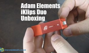 Adam Elements iKlips Duo Unboxing